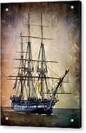 Old Ironsides Acrylic Print by Fred LeBlanc