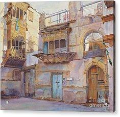 Old Jeddah Acrylic Print by Dorothy Boyer