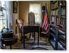 Acrylic Print featuring the photograph Old Library by Ann Bridges