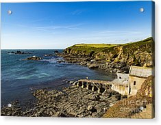 Acrylic Print featuring the photograph Old Life Boat Station by Brian Roscorla