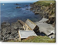 Acrylic Print featuring the photograph Old Lifeboat Station by Brian Roscorla