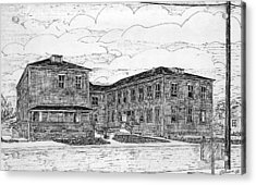 Old Lilly Lab At Mbl Acrylic Print