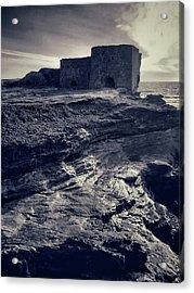 Old Lime Kilns Acrylic Print by Dave Bowman