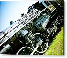 Old Locomotive 01 Acrylic Print