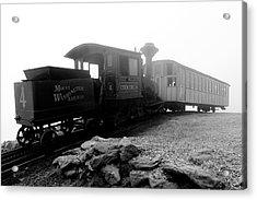 Old Locomotive Acrylic Print by Sebastian Musial