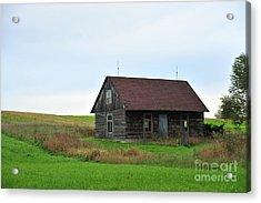 Old Log Cabin Acrylic Print