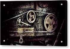 Old Machine Acrylic Print