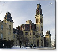 Old Main At Woods Wisconsin Acrylic Print