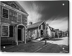 Acrylic Print featuring the photograph Old Main Street by Steven Ainsworth