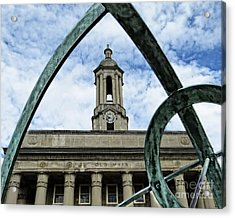 Old Main Thru The Turtle Acrylic Print