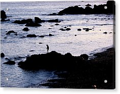 Acrylic Print featuring the photograph Old Man And The Sea by Jan Cipolla