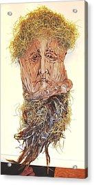 Old Man In A Tree Acrylic Print by Ellen Burns