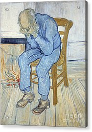 Old Man In Sorrow Acrylic Print by Vincent van Gogh