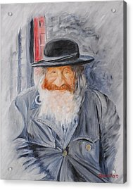 Old Man Of Jerusalem Acrylic Print by Quwatha Valentine