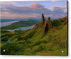 Old Man Of Storr Acrylic Print