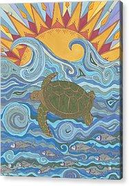 Old Man Of The Sea Acrylic Print