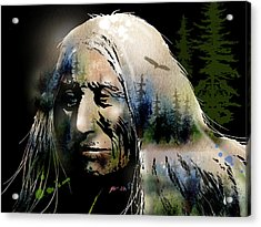 Old Man Of The Woods Acrylic Print by Paul Sachtleben