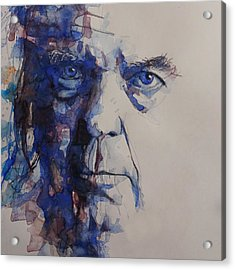 Old Man - Neil Young  Acrylic Print by Paul Lovering
