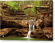 Old Mans Cave Acrylic Print