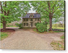 Old Manse Concord, Massachusetts Acrylic Print by Brian MacLean