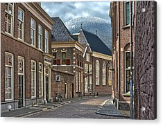Old Meets New In Zwolle Acrylic Print