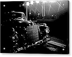 Old Mercedes Acrylic Print