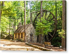 Old Mill At Berry College Acrylic Print