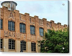 Old Mill Building In Buford Acrylic Print