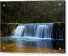 Old Mill Dam Acrylic Print