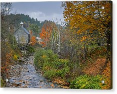 Old Mill New England Acrylic Print