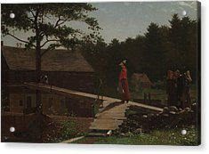 Old Mill  Acrylic Print by Winslow Homer
