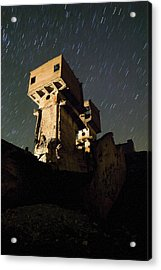 Old Mine Acrylic Print by Andre Goncalves