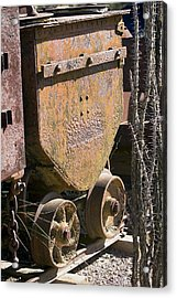 Old Mining Car Acrylic Print