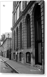 Old Montreal Street Scene Acrylic Print by Reb Frost
