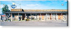 Old Motel In Tonopah, Nevada Acrylic Print by Panoramic Images