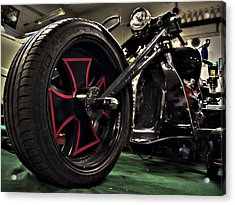 Old Motorbike Acrylic Print