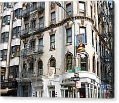 Old Mulberry Street Style New York City Acrylic Print