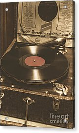 Old Music Box Acrylic Print