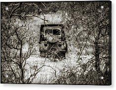 Old N Forgotten Acrylic Print