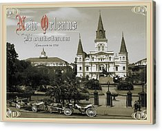 Old New Orleans Louisiana - Founded 1718 Acrylic Print
