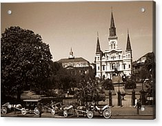 Old New Orleans Photo - Saint Louis Cathedral Acrylic Print