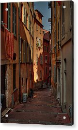 Old Nice - Vieille Ville 004 Acrylic Print by Lance Vaughn