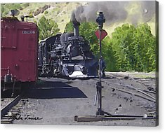 Old No. 478 Acrylic Print by Marla Louise