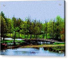 Old North Bridge Acrylic Print