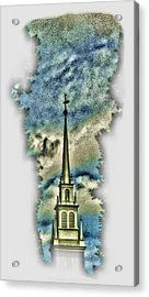 Old North Church Steeple Acrylic Print