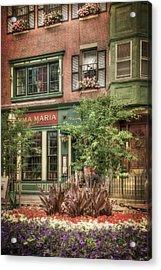 Old North End - North Square - Boston Acrylic Print