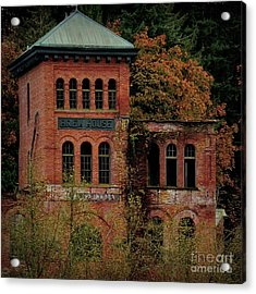 Old Olympia Brewery Acrylic Print