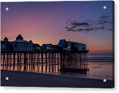 Old Orchard Beach  Acrylic Print