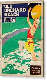 Old Orchard Beach - Folded Acrylic Print