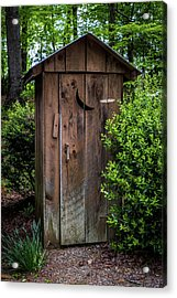 Old Outhouse Acrylic Print